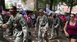 Amerikanen.2 - Sfeerimpressies: de Vierdaagse - dag 2  - van Swaaij Cassastie & Consultancy - cassatieadvocaat - cassatie advocaat
