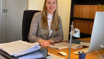 Annet Tjepkema 1.11.2019 - Nieuwe advocaat-stagiaire: Annet Tjepkema - van Swaaij Cassastie & Consultancy - cassatieadvocaat - cassatie advocaat