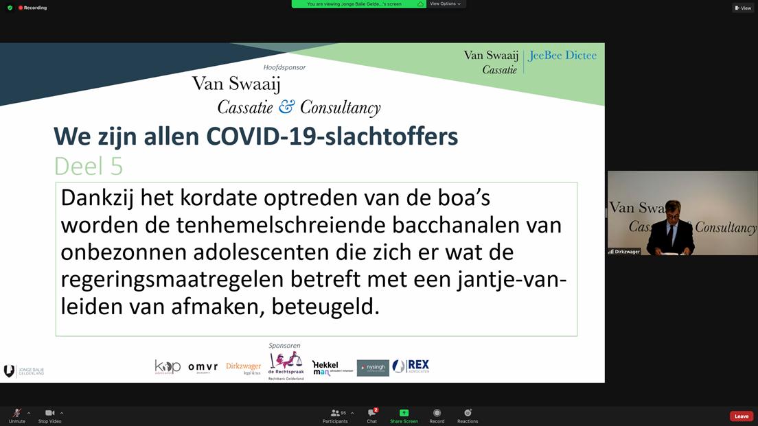 Dictee.2020.Deel 5 - - van Swaaij Cassastie & Consultancy - cassatieadvocaat - cassatie advocaat