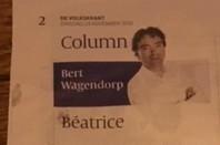 Foto.ColumnBertWagendorp.2 - Elf lessen in De Correspondent - van Swaaij Cassastie & Consultancy - cassatieadvocaat - cassatie advocaat