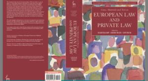 Foto.CoverEuropean - European Law and Private Law - conferentie 4 april a.s. Den Haag - van Swaaij Cassastie & Consultancy - cassatieadvocaat - cassatie advocaat