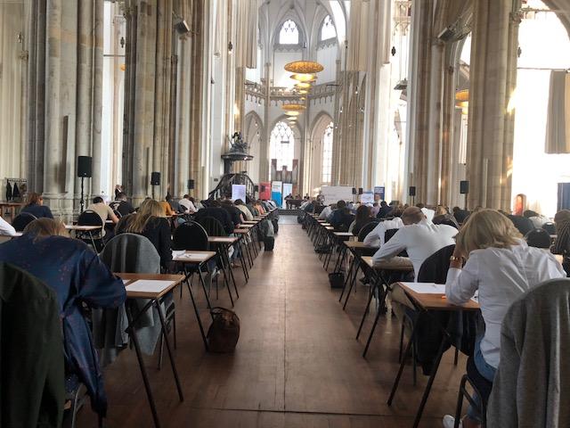 Vorig jaar in de Eusebiuskerk te Arnhem (foto SvS, iPhone X)