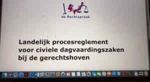 Foto.LP - Waar is versie 5 Landelijk procesreglement gerechtshoven? - van Swaaij Cassastie & Consultancy - cassatieadvocaat - cassatie advocaat