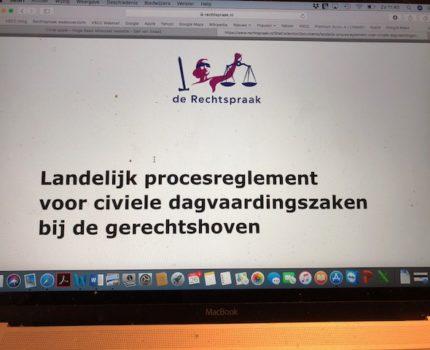 Foto.LP - Waar is versie 5 Landelijk procesreglement gerechtshoven? - van Swaaij Cassastie & Consultancy - cassatieadvocaat - cassatie advocaat