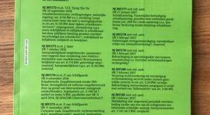 Foto.NJ.2017 - De fijne kneepjes van het vak - Jaap Spier nieuwe NJ-annotator - van Swaaij Cassastie & Consultancy - cassatieadvocaat - cassatie advocaat