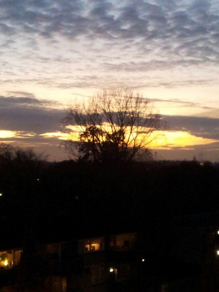 Foto.zonsondergang