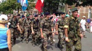 Binnenkomst Vierdaagse Nijmegen (dag 1)
