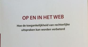 Toegankelijkheid van rechtspraak op het web