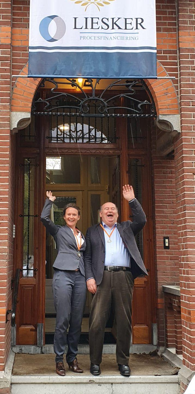 Sara en Chris Liesker - - van Swaaij Cassastie & Consultancy - cassatieadvocaat - cassatie advocaat