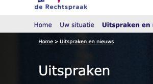 Schermfoto.Rechtspraak.nl - Waarom staat niet iedere gecasseerde civiele uitspraak op rechtspraak.nl? - van Swaaij Cassastie & Consultancy - cassatieadvocaat - cassatie advocaat