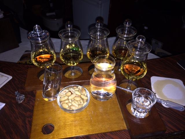 Whiskymenu