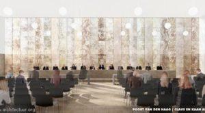Nieuwe zittingzaal Hoge Raad