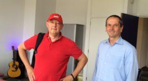 foto.Georg van Daal.1 - Spontaan visite: mrs. Georg van Daal en Godfried van Berkel - van Swaaij Cassastie & Consultancy - cassatieadvocaat - cassatie advocaat