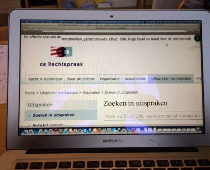 foto.rechtspraak.nl - Toegankelijkheid van rechtspraak op het web - van Swaaij Cassastie & Consultancy - cassatieadvocaat - cassatie advocaat